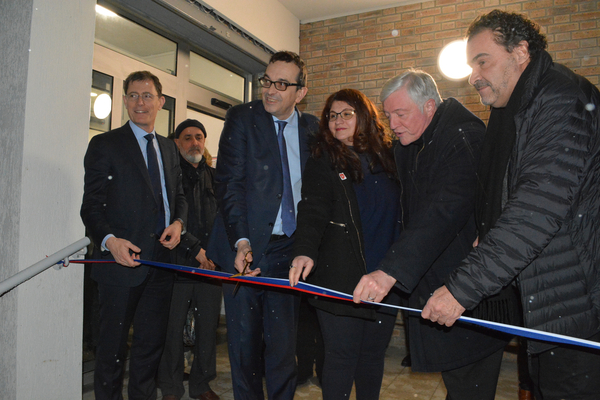Inauguration de la Maison des associations